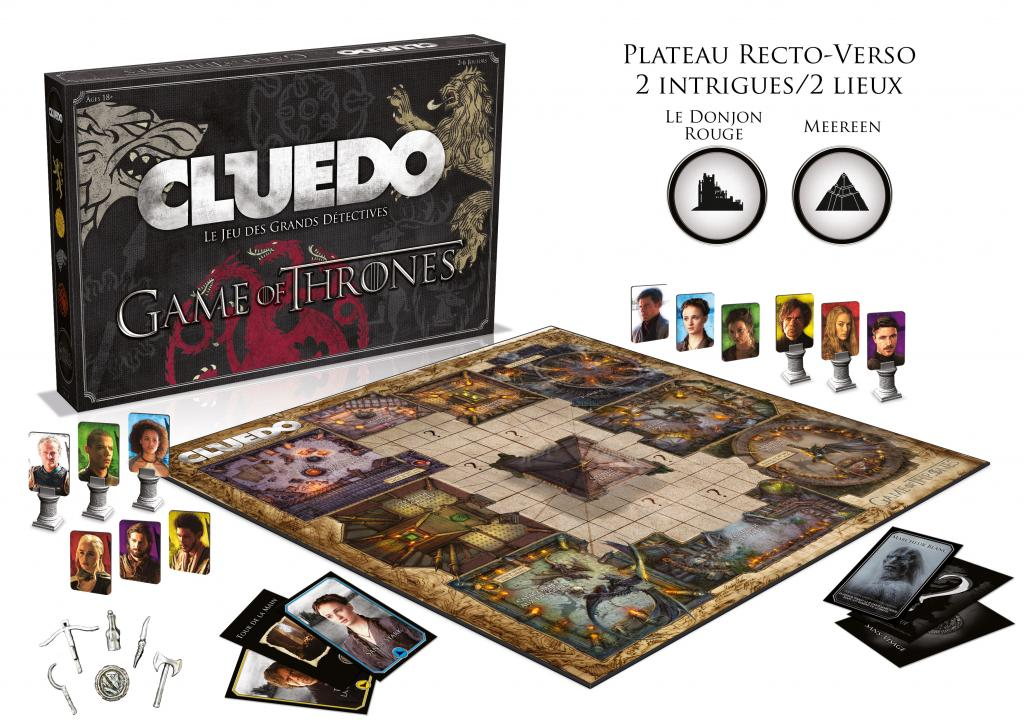 CLUEDO - Game of Thrones (FR)