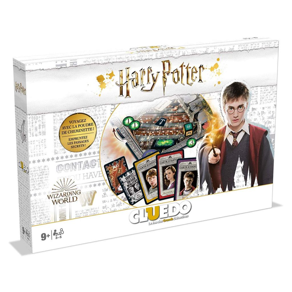 CLUEDO - Harry Potter Deluxe (FR)