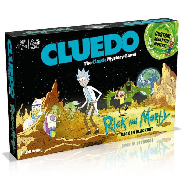 CLUEDO - Rick & Morty (UK)