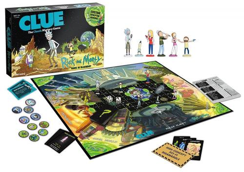 CLUEDO - Rick & Morty (FR)