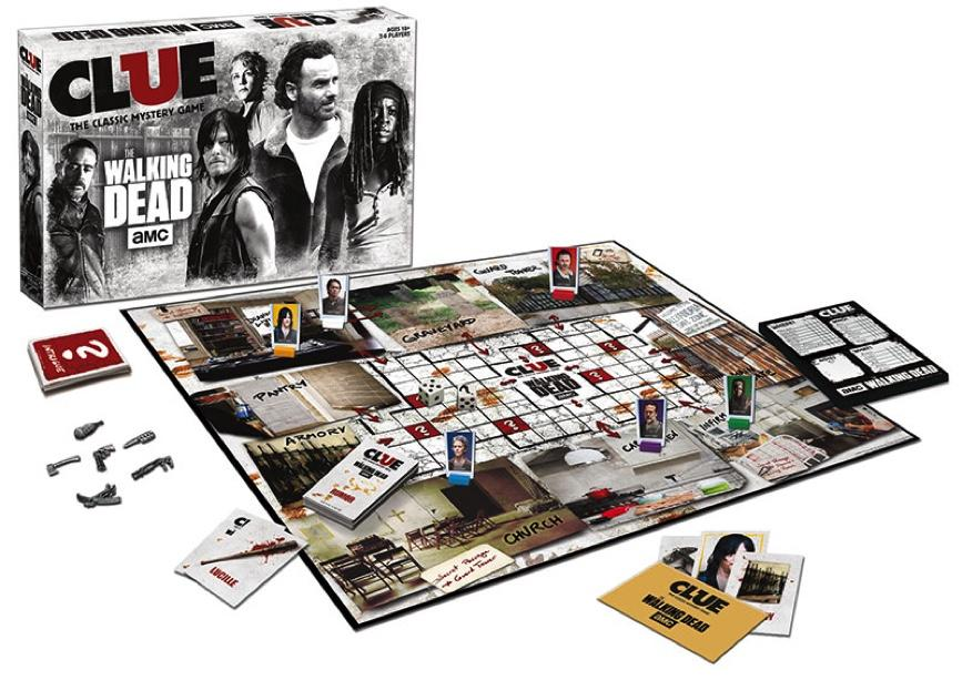 CLUEDO - The Walking Dead - Serie (FR)