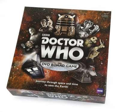 Doctor Who 50th Anniversary DVD Bord Game (UK Only)