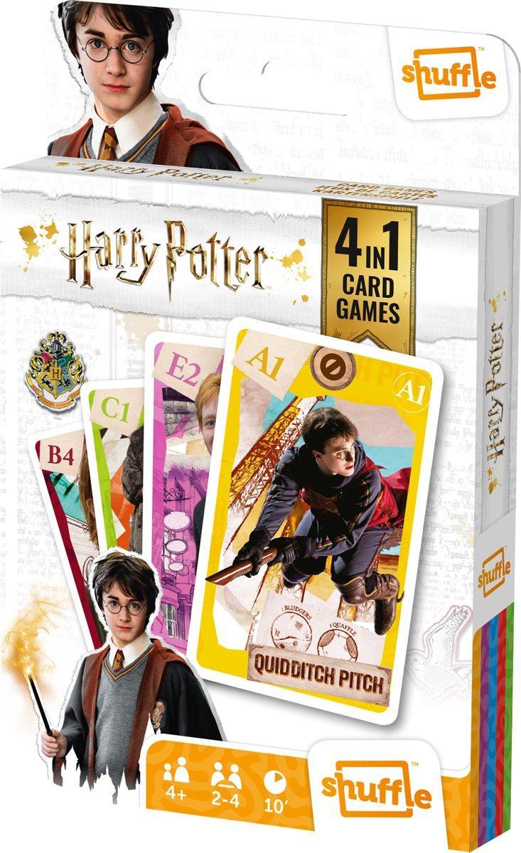 HARRY POTTER - Jeu de cartes 4 en 1_2