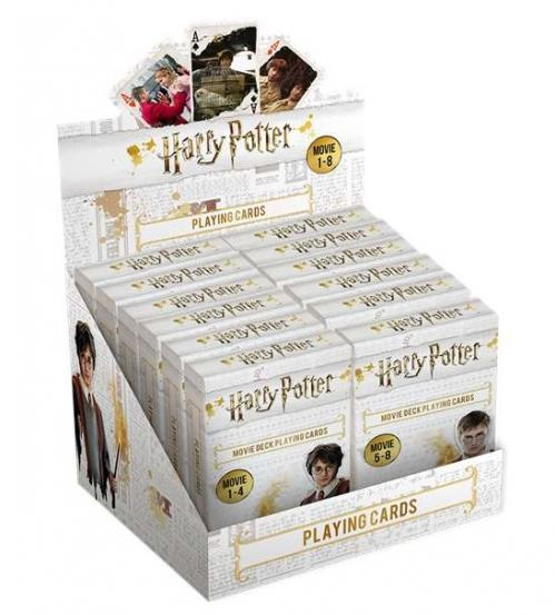 HARRY POTTER - Jeu de cartes Movie Decks 'Display 12 pcs'