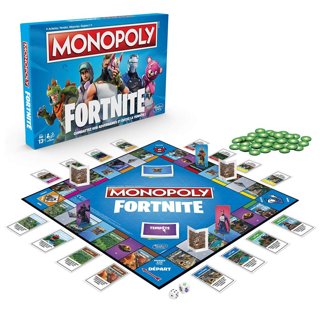 MONOPOLY - FORTNITE (FR)