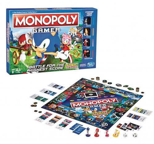 MONOPOLY - Gamer Sonic 'Version Anglaise'