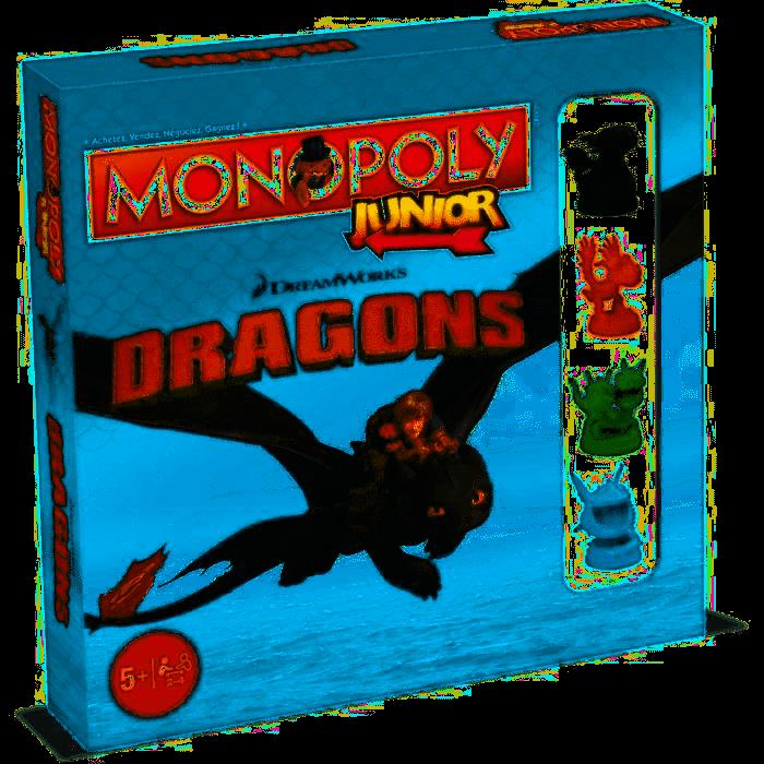 MONOPOLY Junior - Dragons (FR)