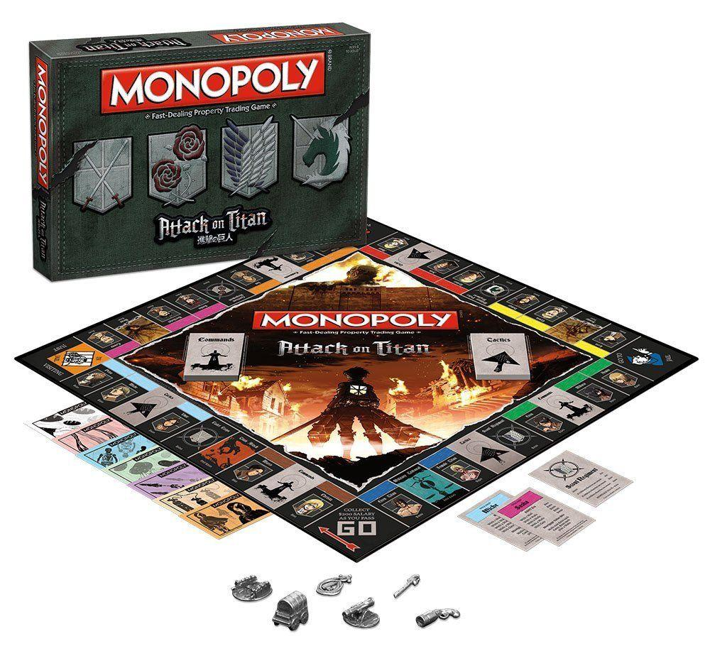 MONOPOLY - L'attaque des Titans (FR)