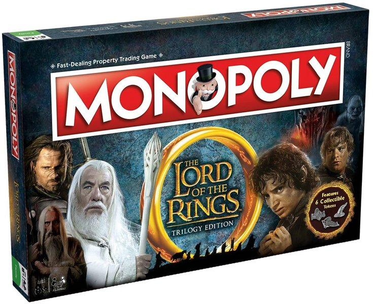 MONOPOLY - Lord to the Ring (UK)