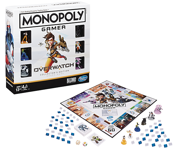 MONOPOLY - OVERWATCH Limited Edition (UK Only)