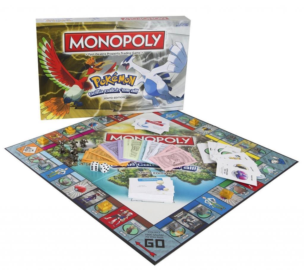 MONOPOLY - Pokemon Edition Johto (FR)