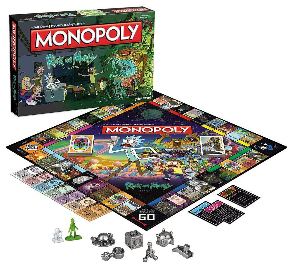 MONOPOLY - Rick & Morty (FR)