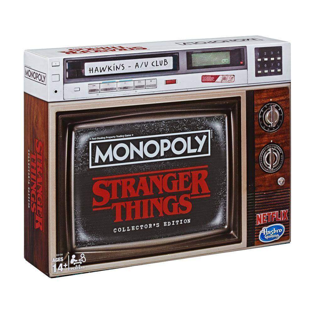 MONOPOLY - Stranger Things COLLECTOR EDITION (UK Only)