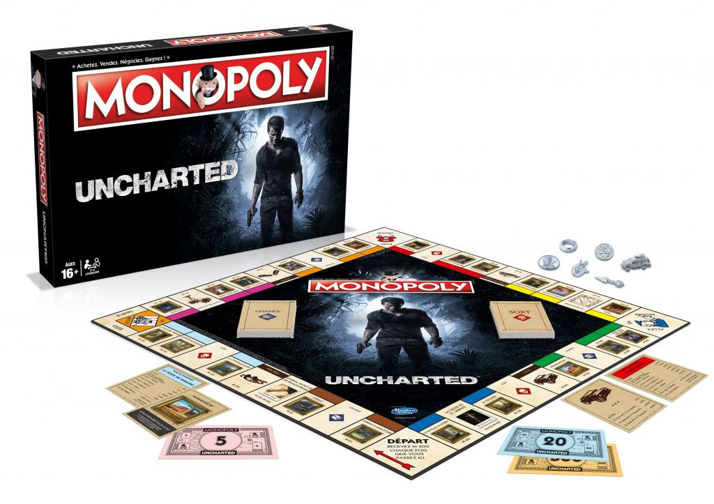 MONOPOLY - Uncharted (FR)