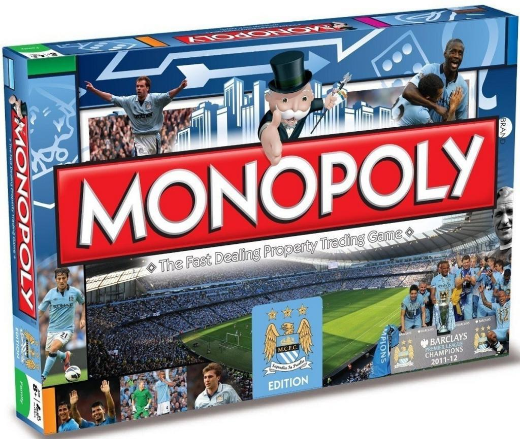MONOPOLY - Manchester City F.C. (UK Only)