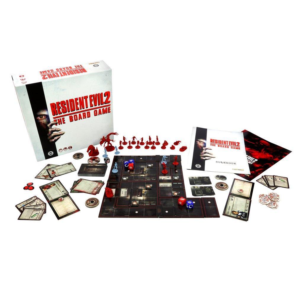 RESIDENT EVIL 2 - The Board Game (UK)_2