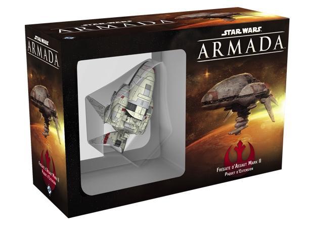 STAR WARS ARMADA - EXT Flotte Rebelle - Frégate D'Assaut Mark II
