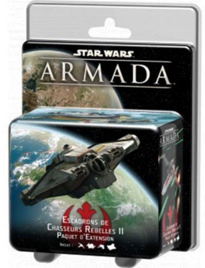 STAR WARS ARMADA - EXT Flotte Rebelle - Escadrons de Chasseurs II