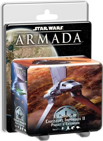 STAR WARS ARMADA - EXT Flotte Impériale - Escadrons de Chasseurs II