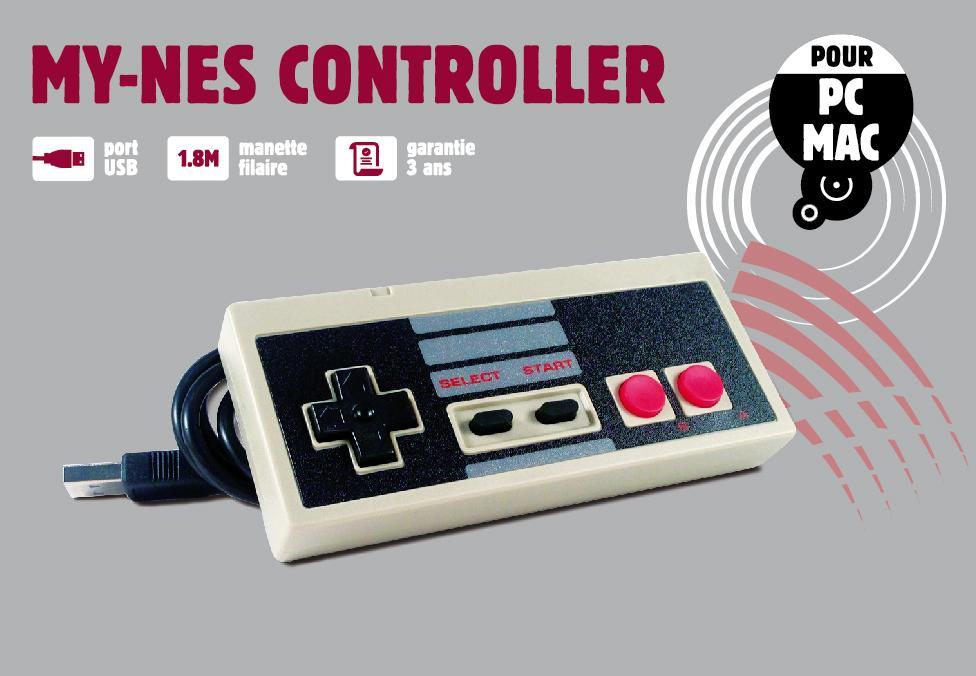 RETRO - Manette USB NES pour PC/MAC_1