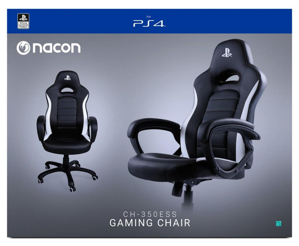NACON Gaming Chair Official Playsattion Black/White_1