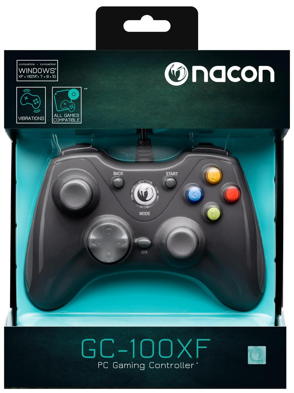 NACON WIRED GAMING CONTROLLER Black PC_1