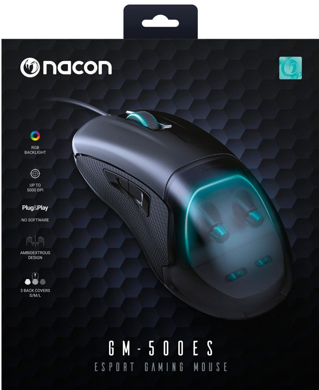 NACON E-SPORTS GAMING MOUSE GM-500ES - PROMO_2