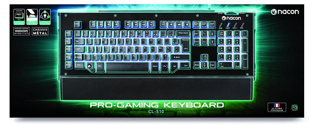 NACON GAMING KEYBOARD CL-510 AZERTY PC_2