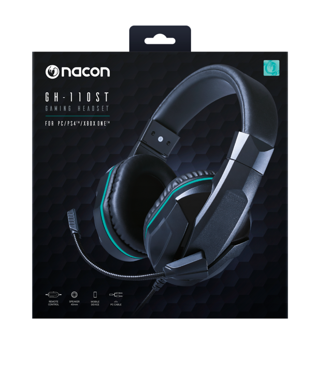 NACON GAMING HEADSET  GH110 PS4/XBONE/PC/MOBILE