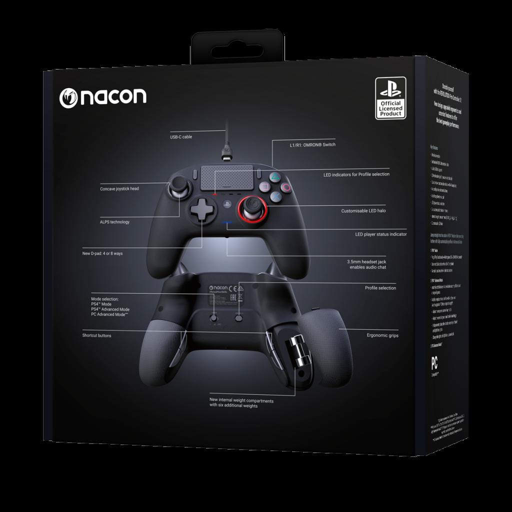 NACON REVOLUTION PRO 3 OFFICIAL CONTROLLER PS4_2