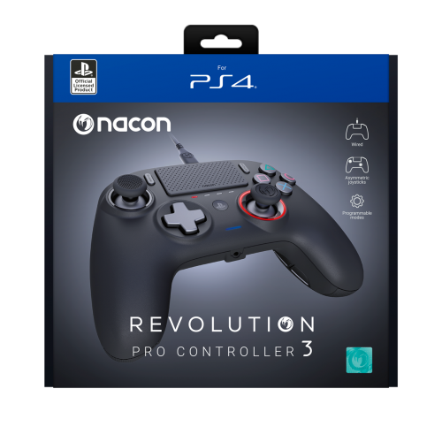NACON REVOLUTION PRO 3 OFFICIAL CONTROLLER PS4
