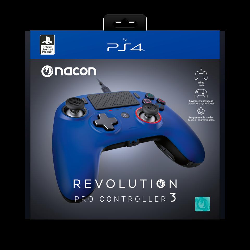 NACON REVOLUTION PRO 3 OFFICIAL CONTROLLER PS4 - BLUE_1