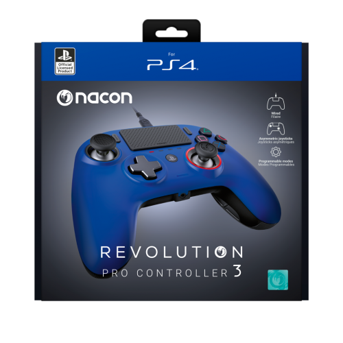 NACON REVOLUTION PRO 3 OFFICIAL CONTROLLER PS4 - BLUE