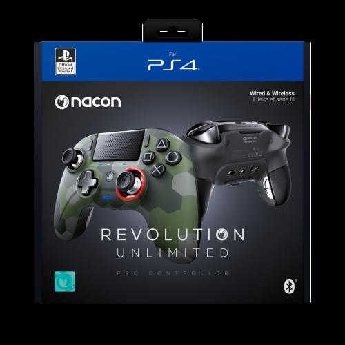 NACON REVOLUTION UNLIMITED PRO CONTROLLER OFFICIAL PS4 CAMO