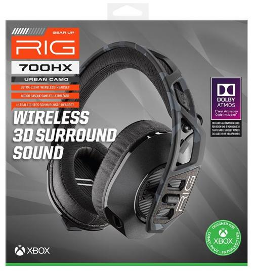 RIG 700 HX Wireless Headset Urban Camo XBONE / XBOX SX / ATMOS