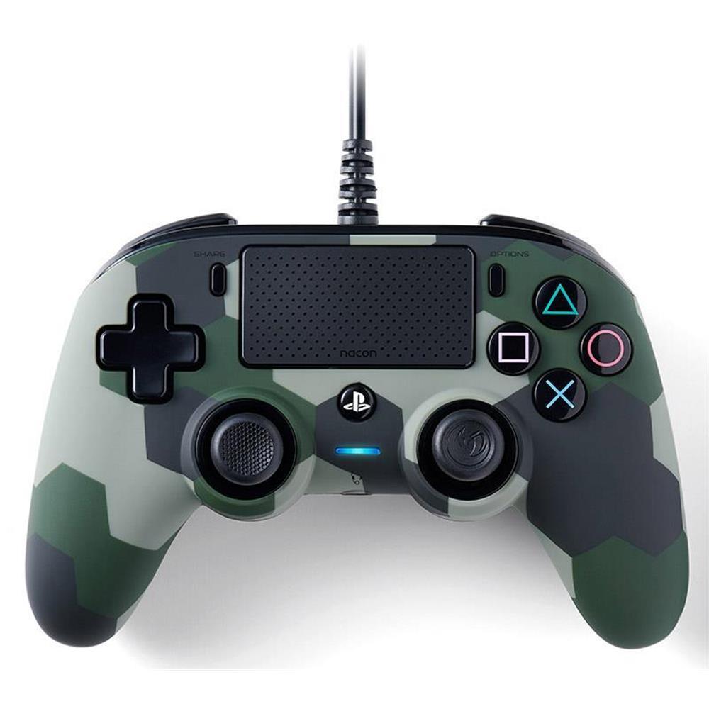 NACON WIRED OFFICIAL CONTROLLER CAMO GREEN PS4_1