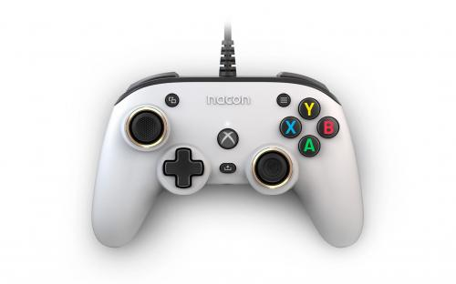 NACON WIRED OFFICIAL PRO COMPACT CONTROLLER ATMOS WHITE