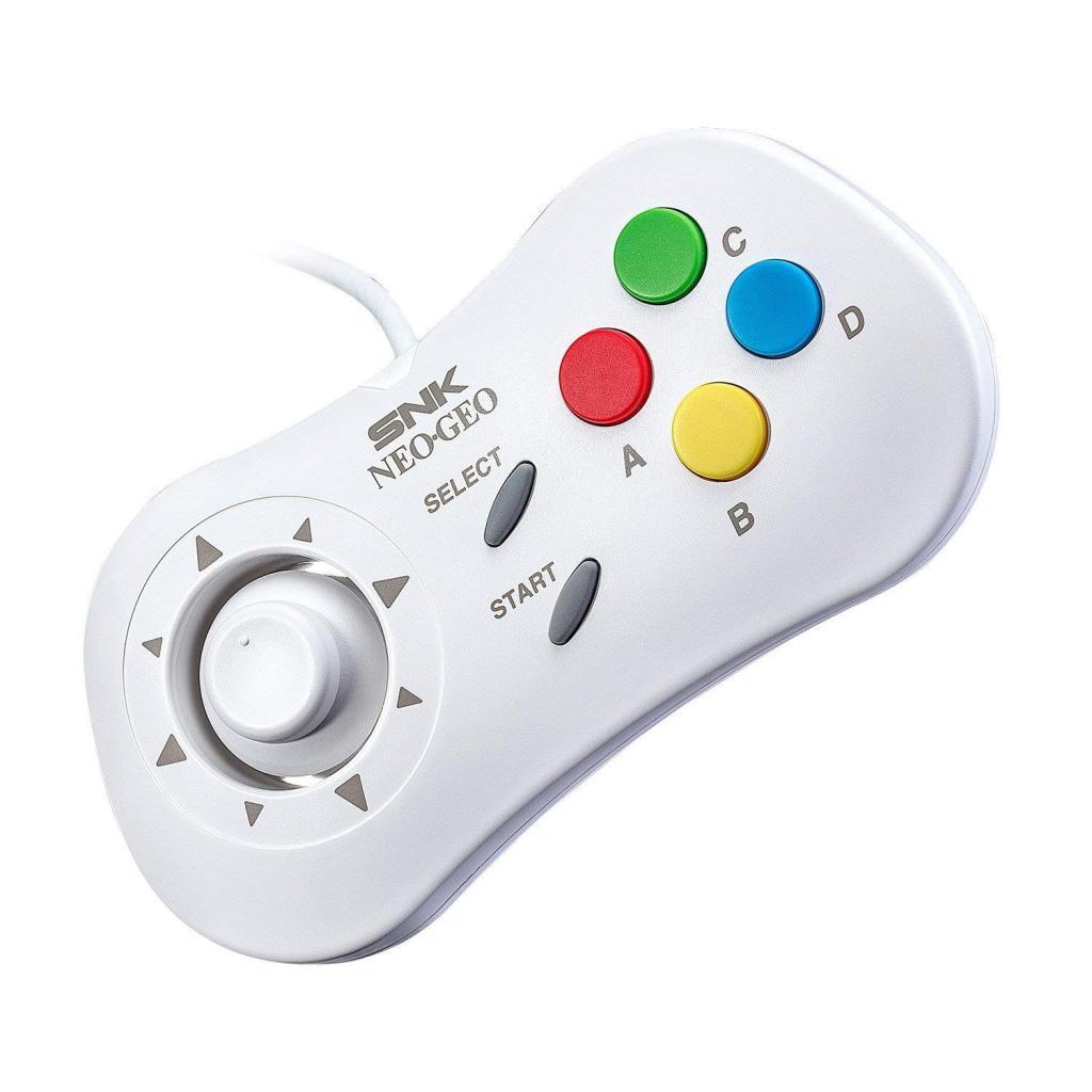 Console RETRO - NEO GEO Mini White Controller