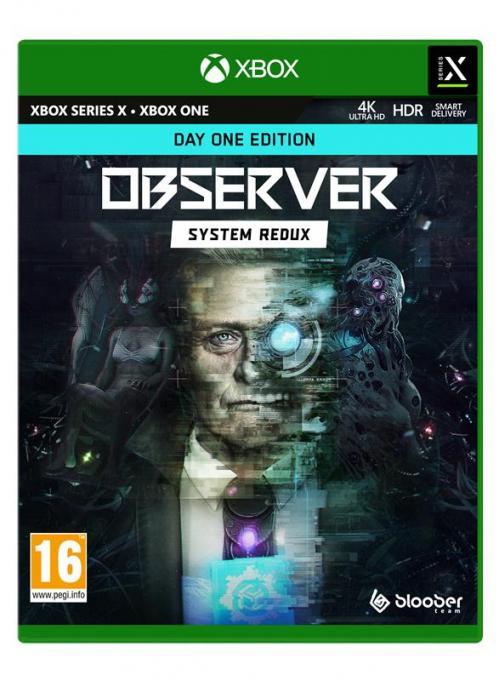 Observer System Redux - Day One Edition (Box UK) - XBOX SX - XBONE