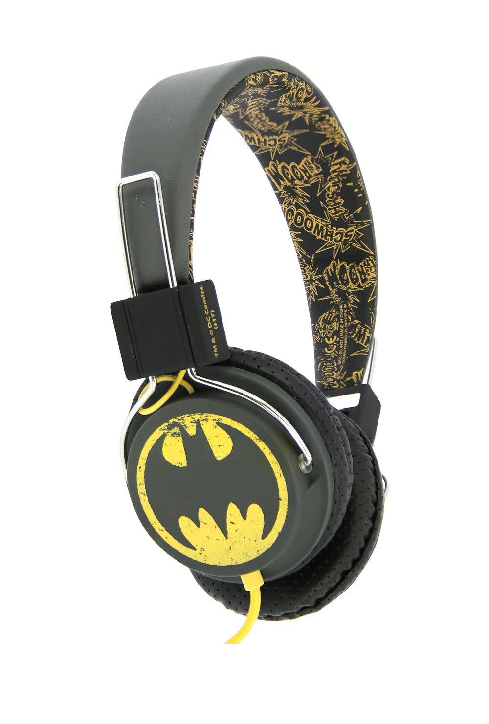 DC COMICS - Casque Audio OTL Junior 85db - Vintage Batman