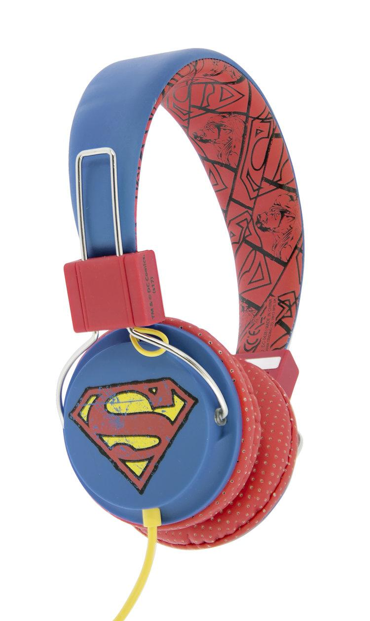 DC COMICS - Casque Audio OTL Junior 85db - Vintage Superman