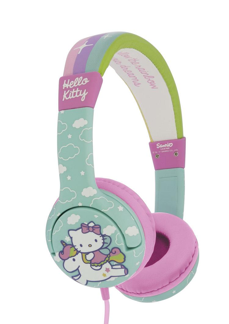 HELLO KITTY - Casque Audio OTL Junior 85db - Unicorn