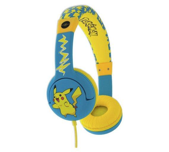 NINTENDO - Casque Audio OTL Junior 85db - Pikachu