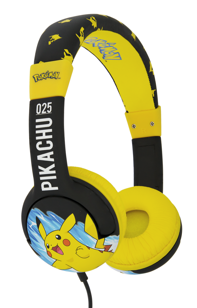 NINTENDO - Casque Audio OTL Junior 85db - Electric Pikachu