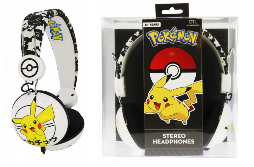 Shopforgeek Nintendo Casque Audio Otl Junior 85db Pokemon
