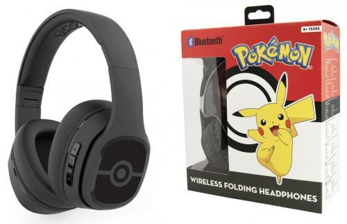 NINTENDO - Casque Audio Bluetooth OTL 8+ Teen - Pokeball