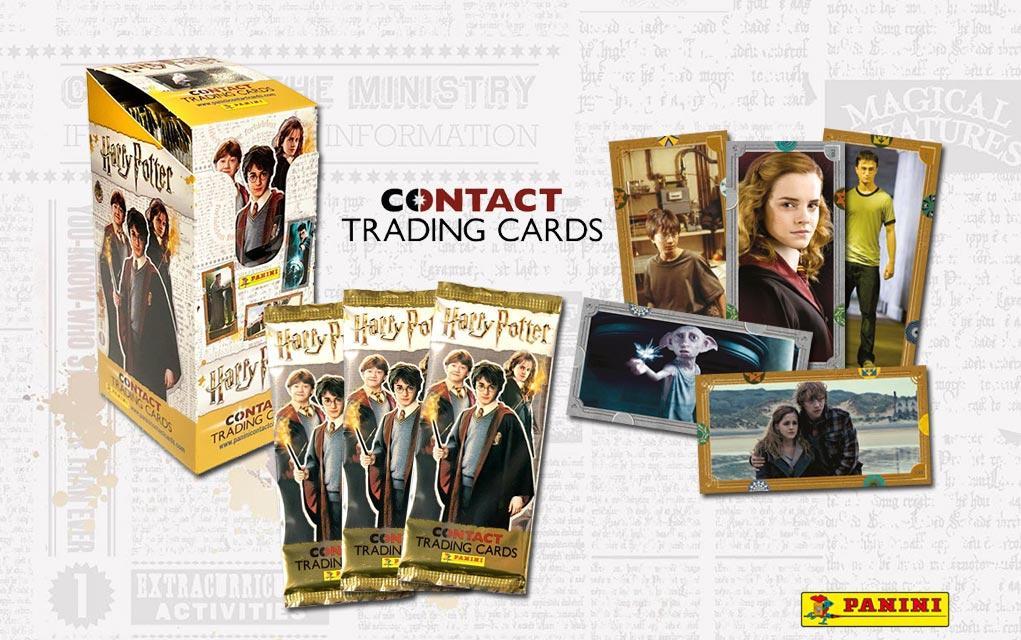 HARRY POTTER - Contact Trading Cards - Box 24 pcs
