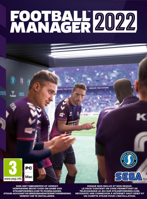 Football Manager 2022 ( Code In Box)