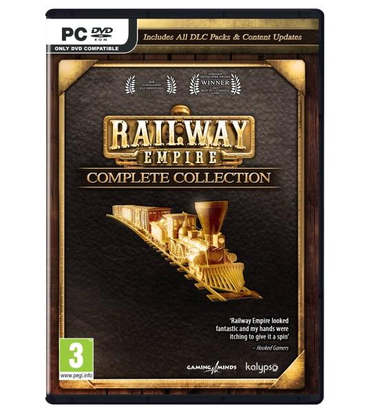 Railway Empire Complete Collection (Box UK )_1