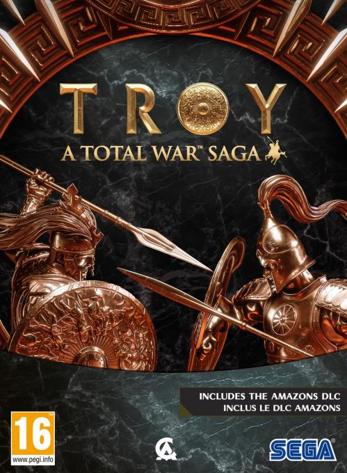 Total War SAGA - TROY Limited Edition (incl. Amazons DLC)